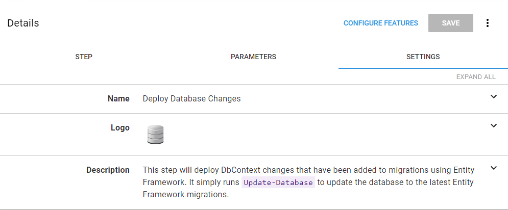 Octopus Deploy - Automate Entity Framework Code First Migration